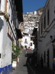 Taxco - winding and steep streets