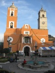 Real del Monte - main church and plaza